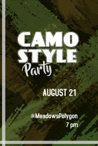 Camo style party