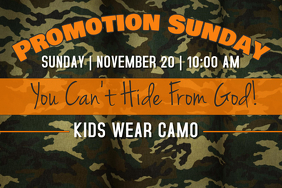 Camo Sunday
