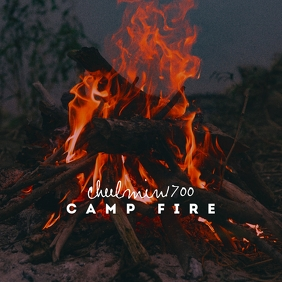 Camp Fire Clean CD Cover Art