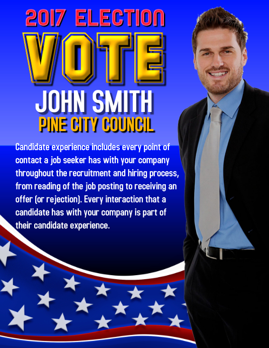 campaign poster templates free