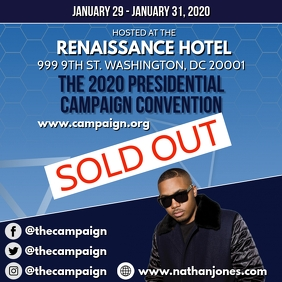 CAMPAIGN EVENT FLYER TEMPLATE