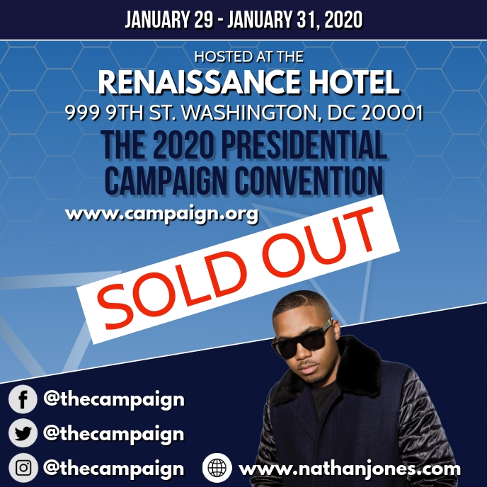 CAMPAIGN EVENT FLYER TEMPLATE Cover ng Album