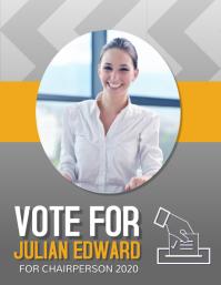 Campaign Flyer, Vote