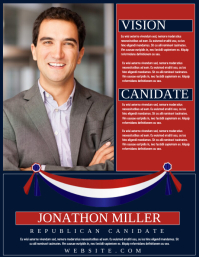 Customizable Design Templates For Elections PosterMyWall - Political campaign brochure template