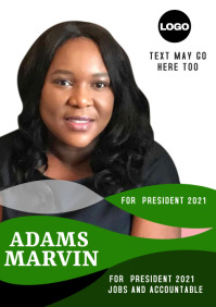 campaign poster 12ss A3 template