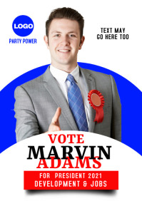 campaign poster 18s A3 template