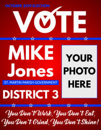 CAMPAIGN POSTER 2019
