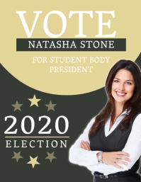Campaign Poster Flyer Template