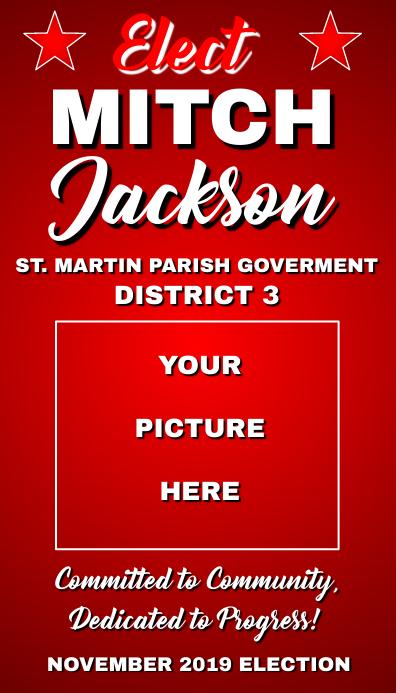 Campaign Push Card Визитная карточка template
