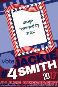 Campaign School Class Election Vote Political Debate USA