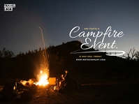 CampFire Event Presentation template