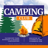 camping Pos Instagram template