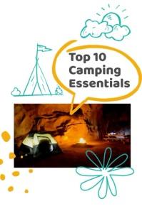 Camping Essentials Pinterest Pin