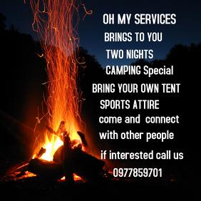 Camping flier