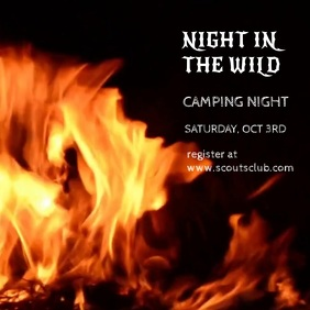 CAMPING NIGHT VIDEO TEMPLATE