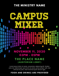 Campus Mixer Church Event Flyer