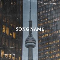 Canada album cover design template Albumcover