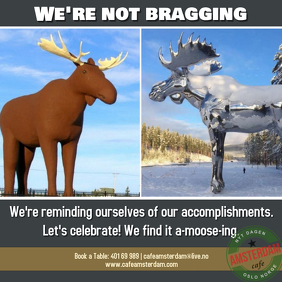 Canada and Norway lock horns in battle over tallest moose sculpture