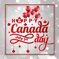 Canada day, event, Independence day Instagram Post template