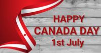 Canada day, event,Independence day delt Facebook-billede template