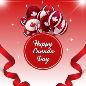 Canada day, event,Independence day Instagram Post template