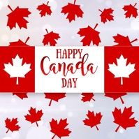 Canada Day, Greetings Message Instagram template