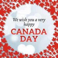 Canada Day, Greetings Publicação no Instagram template