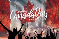Canada Day Celebration Template Poster