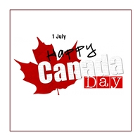 Canada Day Iphosti le-Instagram template