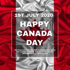 CANADA DAY Square (1:1) template