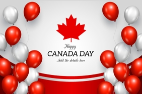 Canada day flyers,Independence day of canada Poster template
