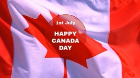 CANADA DAY VIDEO TEMPLATE Digital Display (16:9)