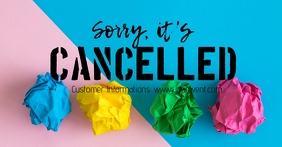 Cancelled Banner Header Information Customer