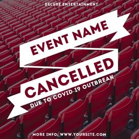 Cancelled Event Coronavirus Instagram Post 3