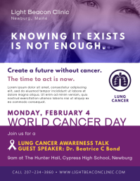Cancer Awareness and Information Flyer