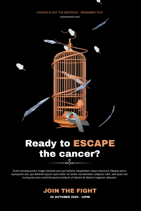 Cancer Awareness Flyer