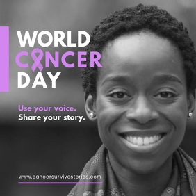 Cancer Day Share Experience Ad