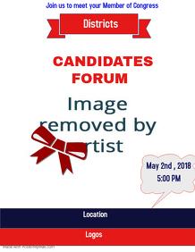 Candidates Forum