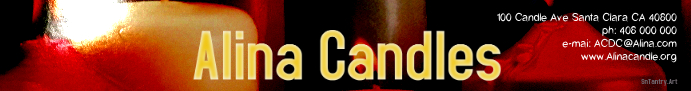 Candle Store Esty Banner