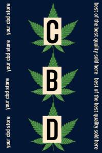 cannabis/CBD shop/natural remedies/health/spa Iphosta template