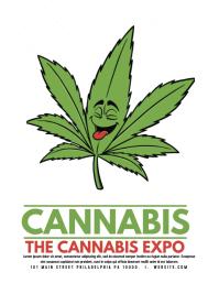 CANNABIS EXPO Volante (Carta US) template