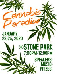 Cannabis Flyer