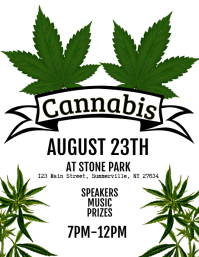 Cannabis Flyer