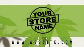 Cannabis Marijuana Store Facebook banner