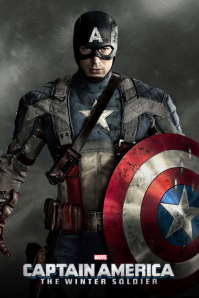 CAPTAIN AMERICA Poster template
