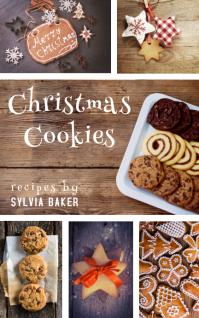 carátula para libro de cocina