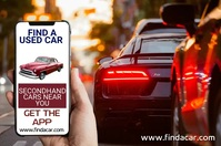 Car App Promo Template Poster