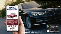 Car App Promo Template Digital Display (16:9)