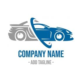 Car Company logo Логотип template