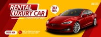Car Cover Flyer Template Free Zdjęcie w tle na Facebooka